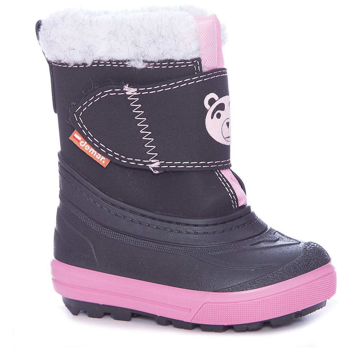 Bottes Demar pour filles 7134869 Valenki Uggi hiver bébé enfants chaussures MTpromo