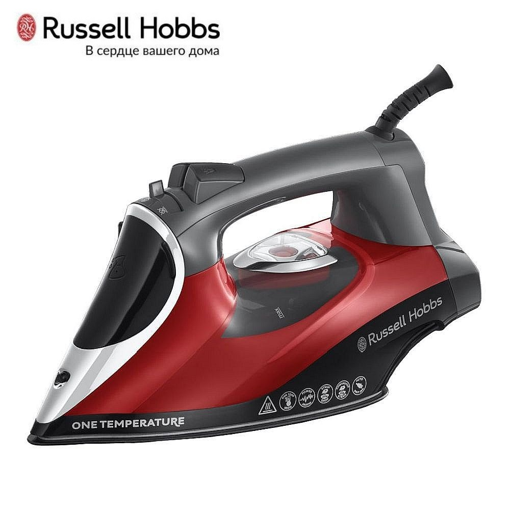 Iron Russell Hobbs 25090-56 Iron for ironing Mini iron steam iron Steam generator for clothing Irons Electric steamgenerator Small iron steam generator philips gc 7703 20 iron steam generator iron for ironing irons steam iron clothes steamgenerator electriciro
