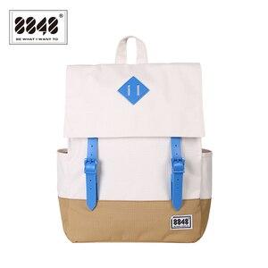 Image 1 - 8848 New Women Backpack Rucksacks Girls School Bags Waterproof Large Capacity 15.6 Inch Laptop Bag Mochila Masculina 173 002 028