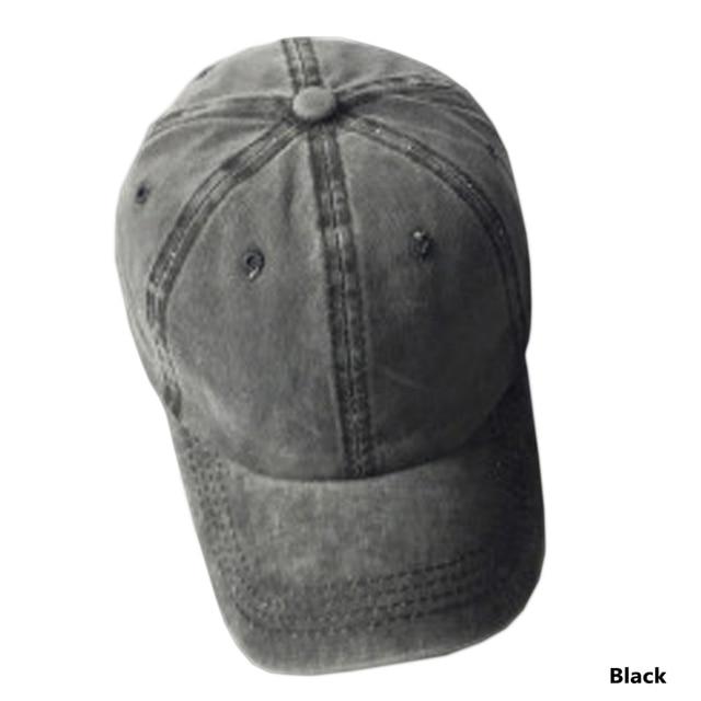 Women Snapback Caps Men Baseball Cap Hats For Men Plain Bone Cotton Washed  Blank Vintage Baseball Caps Sun Hat bf594845202c