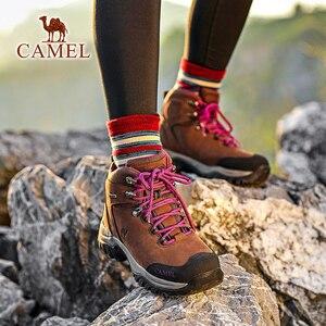 Image 5 - CAMEL hommes femmes haut haut chaussures de randonnée 2019 Durable imperméable anti dérapant en plein air escalade Trekking chaussures bottes tactiques militaires