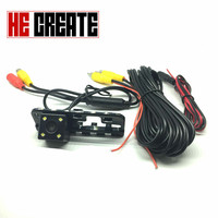 HE CREATE HD CCD 4 LED Car Rearview Rear View Back Up Camera ForHONDA CIVIC 2007
