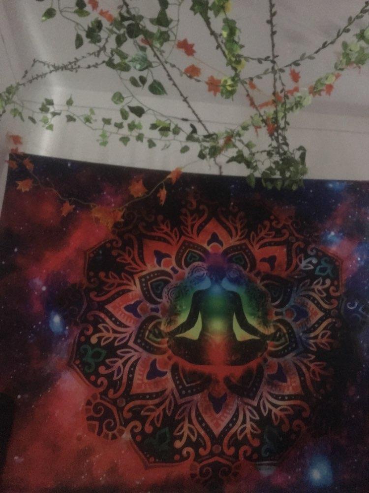 Tapeçaria Psychedelic Mandala Tapeçaria