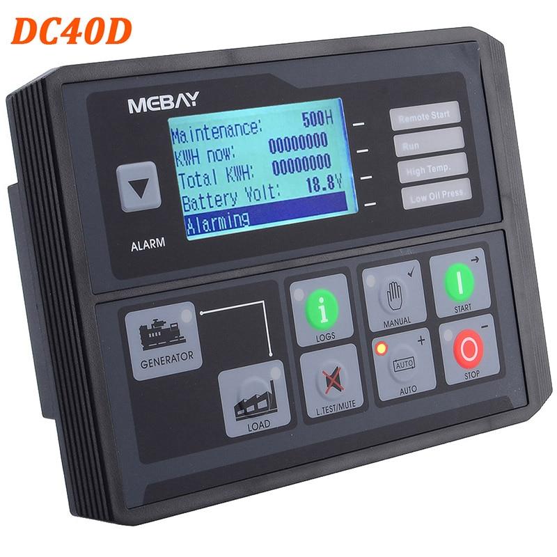 Регулятор генераторной установки DC40D/42D MK3 контроллер генератора для дизельных/бензиновых/газовых генераторных установок контроль параметров 12006054 - Цвет: DC40D