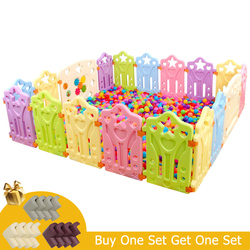 Coperta Box per bambini Giochi All'aperto Scherma Bambini Gioco Recinzione di Attività Per Bambini di Attrezzi di Protezione Ambientale EP Sicurezza Giocare Yard
