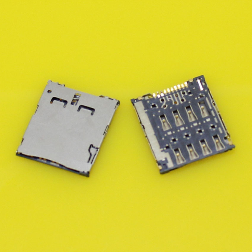 100% New memory card holder slot socket connector for ASUS FonePad K004 me371mg and for Samsung C101 I8730.2pcs/lot.