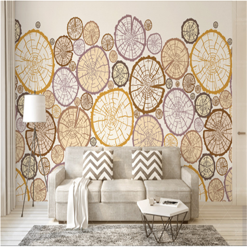 Vintage Wallpapers for Walls 3D Abstract Art Photo Wall Papers Home Decor Wood Texture Living Room Bedding Room TV Wall Murals customized photo 3d murals 3d wallpapers art abstract 3d wallpaper for living room tv backdrop 3d wall paper diy home decoration