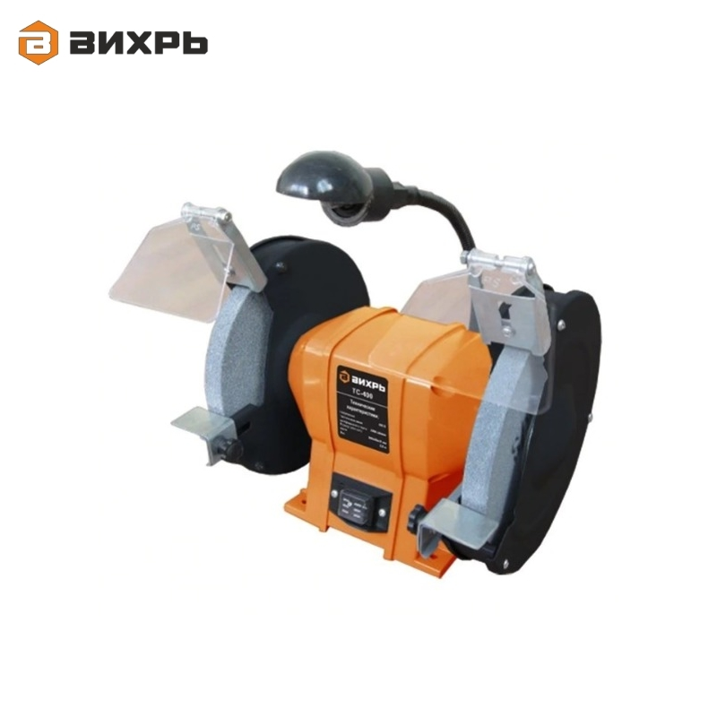 Grinding machine VIHR TS-400 Bench grinder Sharpening machine Emery grinder Sharpening cutting tools Stripping welds automatic herb grinding machine table type continuous feeding herb hammer grinder pulverizer 20kg hour df 20