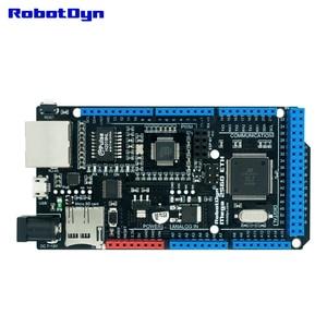 Image 4 - شحن مجاني ميجا 2560 ETH R3 مع ATmega2560 وإيثرنت W5500 ، مايكرو SD ، USB UART CP2104 ، مقبس واي فاي ESP 01