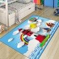 Ailleurs tapis de protection pour enfants   Bleu  Sea Sky ship  motif de phare  nuage 3d  antidérapant  microfibre  chambre d'enfants  tapis décoratif