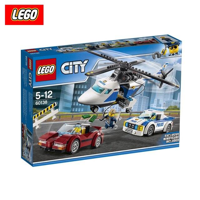 Конструктор Lego City Погоня 60138-L