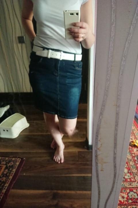 Womens Short Denim Skirts For Women Denim Mini Skirt Female Plus Size Skirts Womens Bandage Jeans Skirt With High Waist Summer photo review