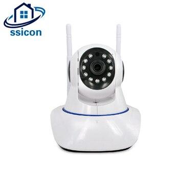 SSICON 1080 P PTZ Wifi IP Camera 10 M IR Night Vision Two Way Âm Thanh CCTV Mini Giám Sát Camera Không Dây với Thẻ SD