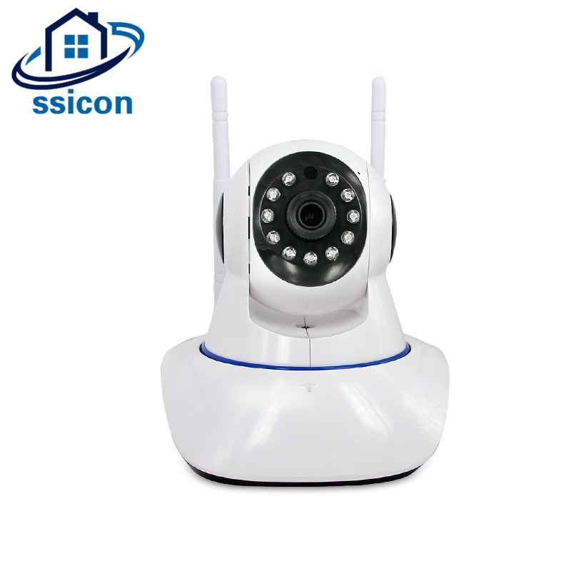 SSICON 720P 960P PTZ Wifi IP Camera 10M IR Night Vision Two Way Audio CCTV Mini Surveillance Camera Wireless with SD Card easyn a115 hd 720p h 264 cmos infrared mini cam two way audio wireless indoor ip camera with sd card slot ir cut night vision