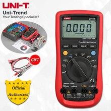 UNI T UT61A/UT61B/UT61C/UT61D/UT61E אוטומטי טווח דיגיטלי מודד; התנגדות/קיבוליות/תדר/טמפרטורת מבחן, RS 232
