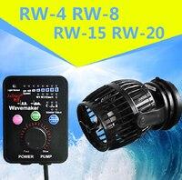 Jebao/Jecod 110~240V RW 4 RW 8 RW 15 RW 20 Coral cylinder pump .Aquarium wave machine Aquarium Flow Pump