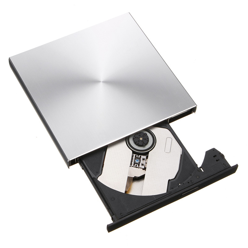 Aluminum Alloy Thread USB 3.0 USB 2.0 External DVD RW Drive Player CD-ROM 3 External Mob ...