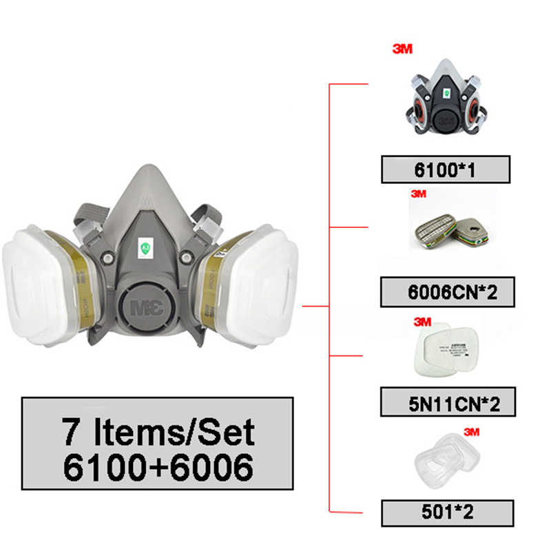 3m mask 6100
