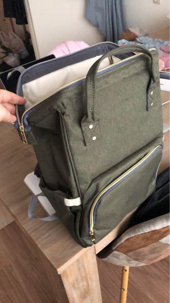MOONBIFFY Fashion Mummy Maternity Nappy Bag Large Capacity Baby Bag Travel Backpack Desinger Nursing Bag for Baby Care