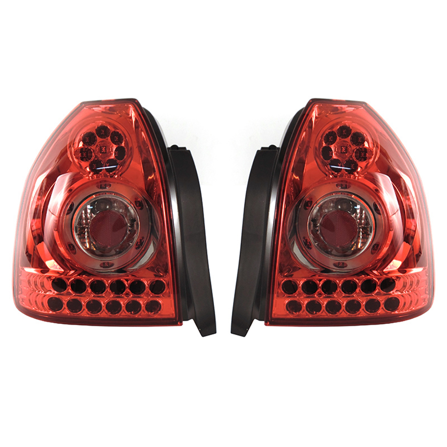 Us 151 1 Rear Lights Set Fits Honda Civic 3 Doors 1995 1996 1997 1998 1999 2000 2001 Tail Lamp Led Pair In Car Light Assembly From Automobiles