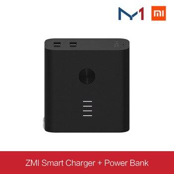Nouveau chargeur intelligent bimode ZMI + chargeur de charge Po (5200) chargeur de puissance mobile Po chargeur rapide portable mini