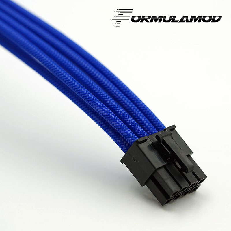 FormulaMod Fm-cpu 8P-A, ЦП 8Pin кабели расширения питания, материнская плата 18AWG 8Pin многоцветные соответствующие кабели расширения - Цвет лезвия: Blue