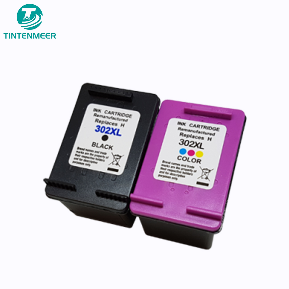 TINTENMEER repalcement ink cartridge 302 compatible for <font><b>hp</b></font> <font><b>Deskjet</b></font> 1110 2130 2131 2132 2134 3630 3632 3634 3636 3637 3638 <font><b>3639</b></font> image