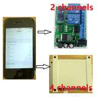 ZL-RC01B Bluetooth 4 0 BLE Controlled 1 Channel Relay Module 6-24V