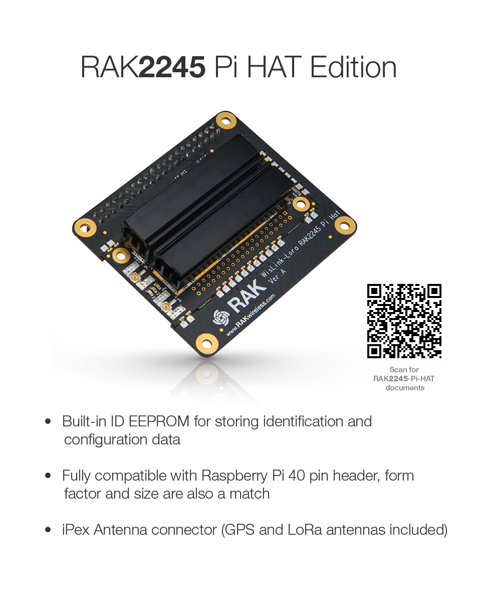 US $105 0 |RAK2245 WisLink Concentrator Module Family / Stamp, 96Boards, &  Raspberry PI form factor,support 8 channels, UART Version-in Computer