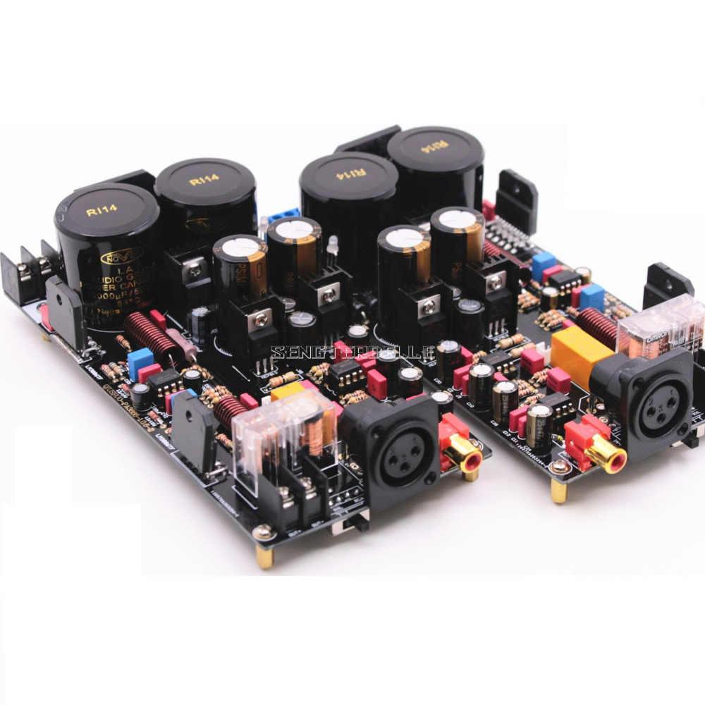 لوح مكبر كهربائي LM3886 متوازن بالكامل 120 واط + 120 واط هاي فاي استريو ذو قناتين