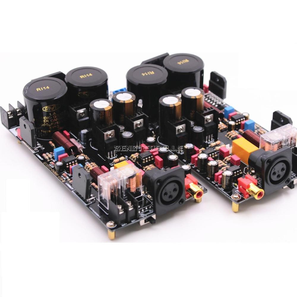 Lm3886 Fully Balanced Power Amplifier Board 120w Hifi 1200w Circuit Sanken Electronic Img 4805