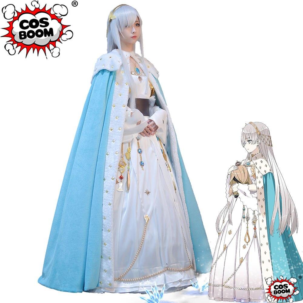 COSBOOM Fate Grand Order Anastasia Cosplay Costume Game FGO Anastasia Fate Women Cosplay Costume