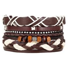 Multilayer Bead Leather Bracelet