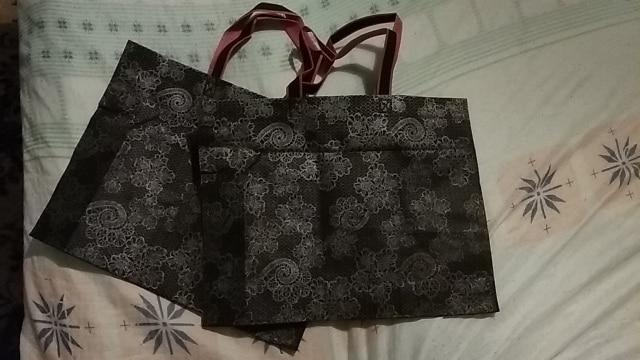 Women Lady Foldable Shopping Bag Waterproof Thick Handbag Casual New Portable Large Capacity  Nylon Tote photo review