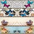 Başka bir Pembe Mavi Kelebek Taş Modern Masa Örtüsü Koşucu Ev Dekorasyonu Mutfak Yemek Odası için Düğün Doğum Günü 40X140 CM