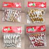 6 Pcs Christmas Candy Cane Ornaments Festival Party Xmas Tree Hanging Decoration Christmas Decoration Supplies 1