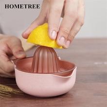 HOMETREE New Portable stainless steel manual juicer lemon juicer so manually squeezed orange juice fruit salad Bowl Kitchen H242