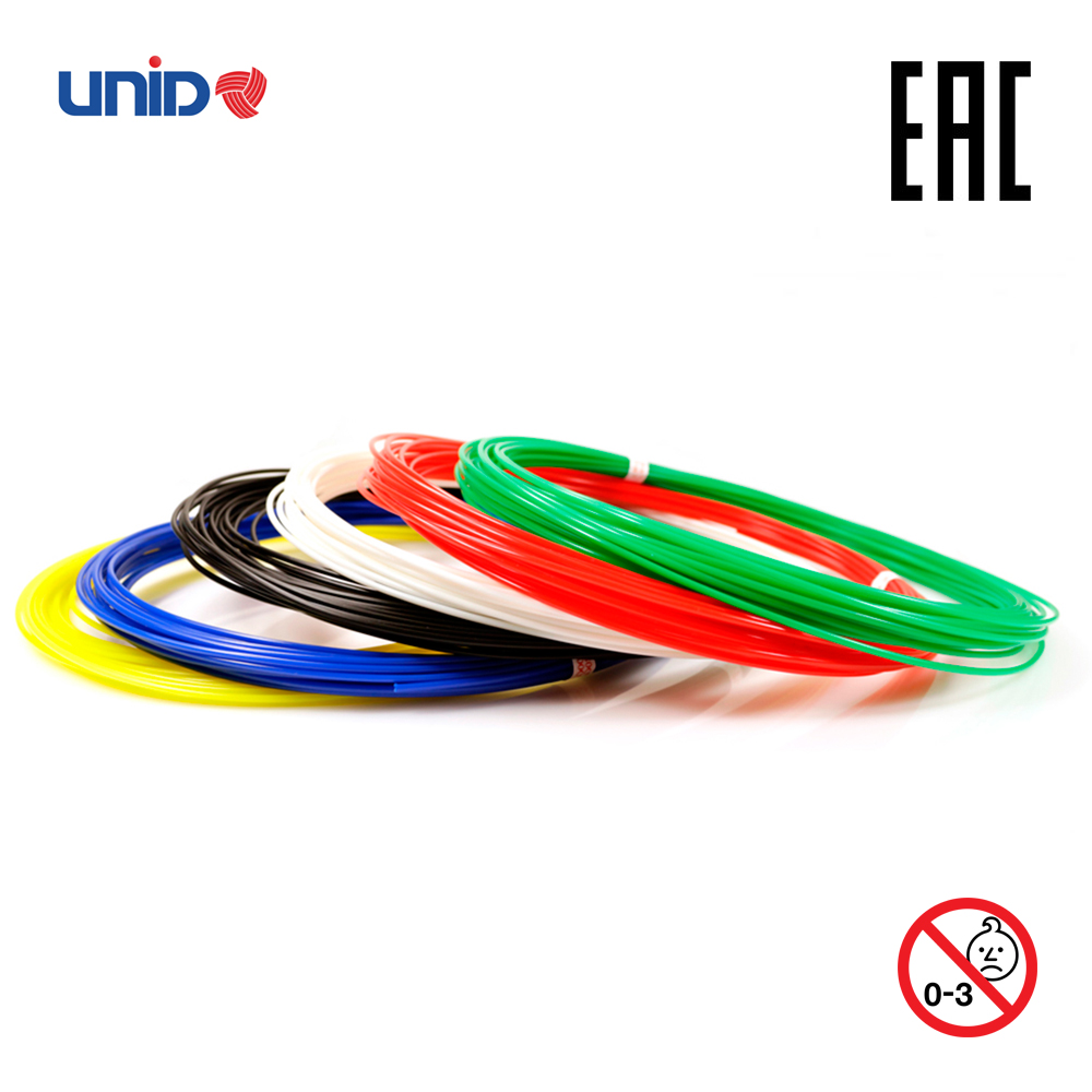 3D Pen Fillament KID 6 Multicolor Set ABS PLA PRO 3D Printing Print birthday present Creativity Smart scribble doodle drawing creopop ink for 3d printer pen plastic pla abs filament set petg rods moscow cheap russia delivery classic cyan orange red