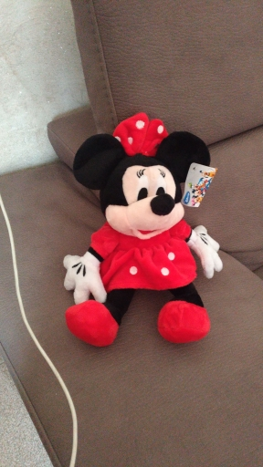 1 Pcs 28cm Hot Sale Lovely Mickey Mouse And Minnie Mouse Stuffed Soft Plush Toys High Quality Gifts Classic Toy For Kid