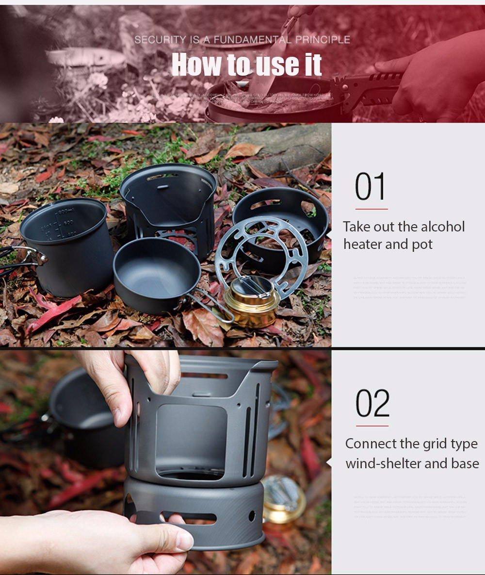 ALOCS CW-C01 7pcs Out of doors Tenting Cooking Set Moveable Range Tenting Cookware Pots Bowl Cooker Range Picnic BBQ Journey 1-2Person UTB8c5ECnhHEXKJk43Jeq6yeeXXaI