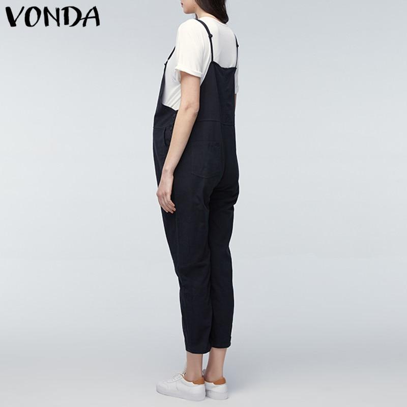 VONDA Maternity Clothings 2018 Gravid Rompers Dame Jumpsuits Casual - Graviditet og moderskab - Foto 4