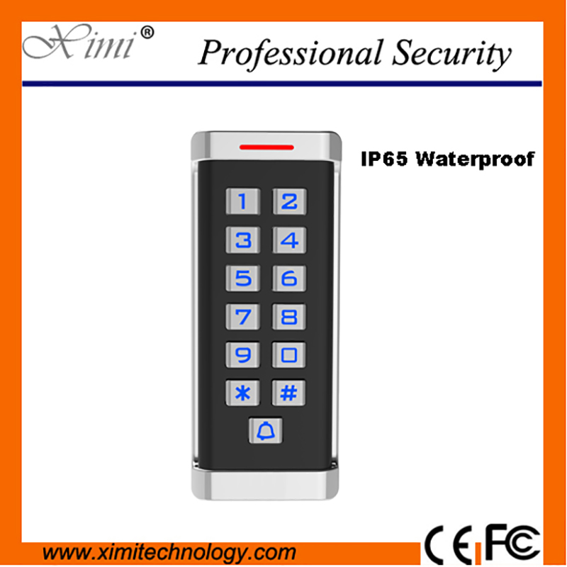Free shipping M18 MF card reader for access control system wiegand26 13.6MHZ card reader IP65 waterproof card access reader free shipping proximity pin keyboard em card reader wiegand26 34 output used for access control s reader sn a04 min 1pcs