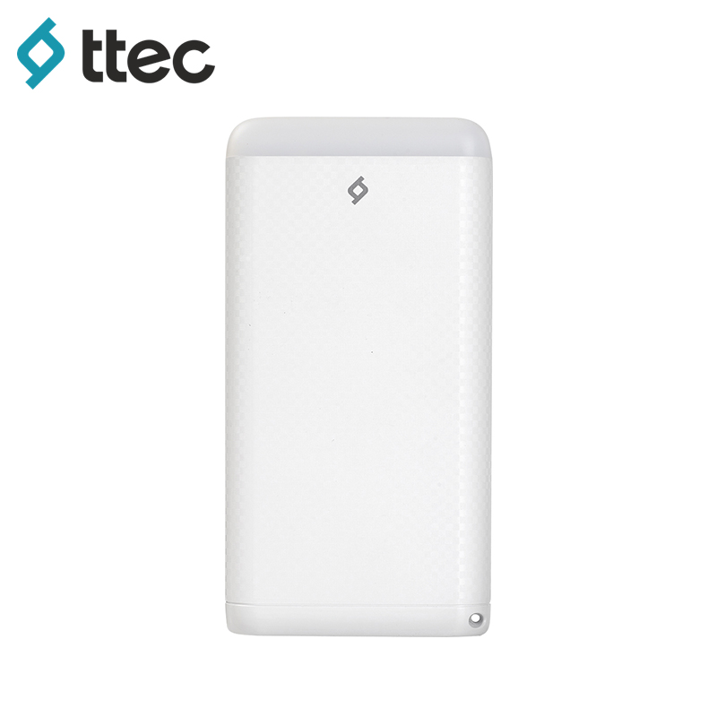 External Battery Pack ttec S8000 white (2BB123B) bt 50q external battery for topcon surveying instruments