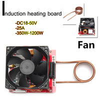 25A 1200W ZVS Low Voltage Induction Heating Board Module Flyback Driver Heater Induction Heating Plate
