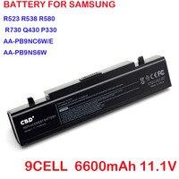 2pcs 9 Cells 6600 Mah Replacement Battery For Samsung Aa Pb9nc6b Np R470 Q318 Q320 Q32