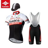 Cycling Jersey Sets Strap shorts Short sleeved Men Bicycle suit Three sets Pro Racing Team Contest version