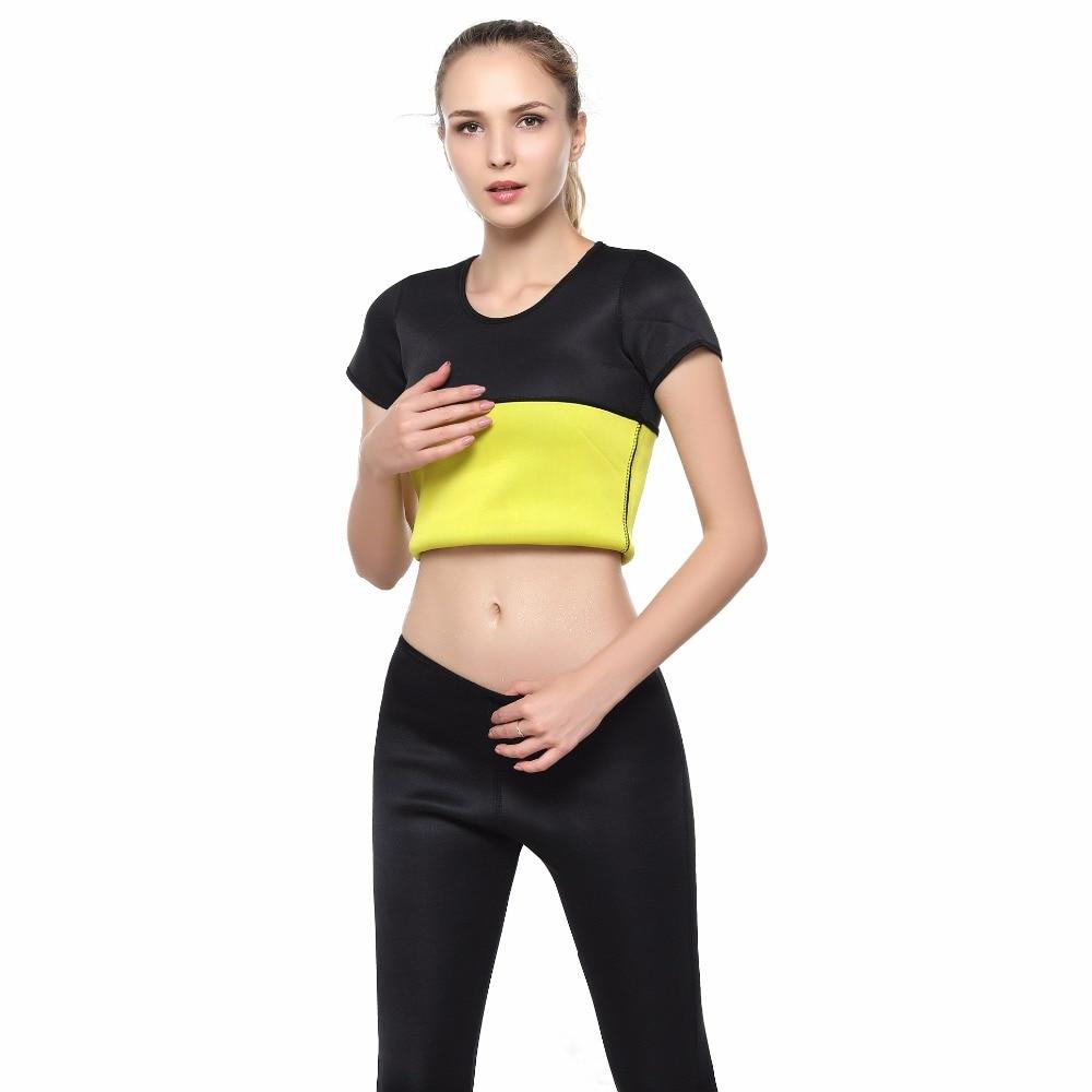 0ee42fb372 Női Tracksuit 2 Piece Jóga Set Női Póló + nadrág Sportos Női Fitness ...