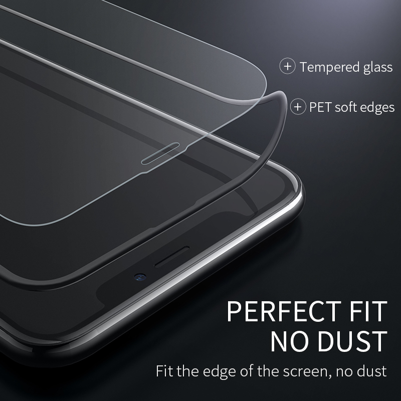 HOCO Best for Apple iPhone X XS Max XR Full HD Tempered Glass Film Screen Protector Protective 3D Full Cover Screen Protection 6