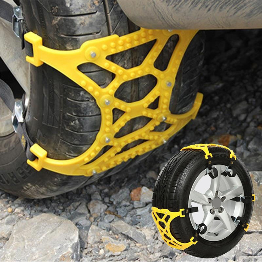 Car Vehicle Truck Off-Road SUV Safe Snow Tire Wheel Chain Anti-skid Mesh Belt
