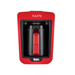 Fakir Kaave Automatic Turkish Coffee Machine Kaffeekocher Coffee Maker - red